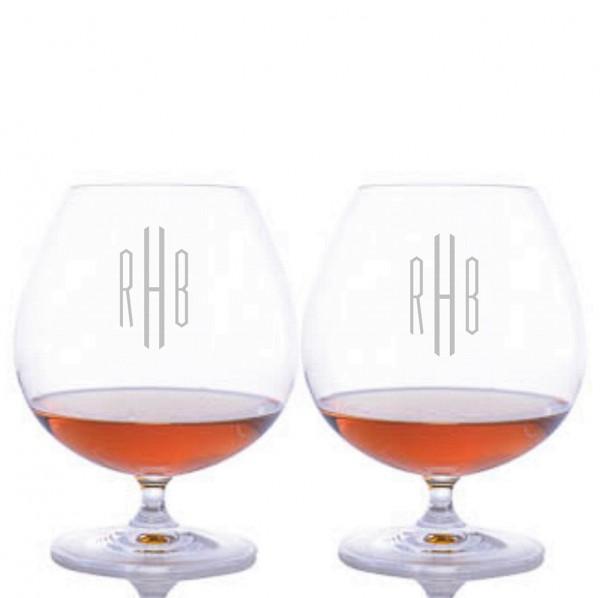 Personalized Riedel Bar Brandy Glass