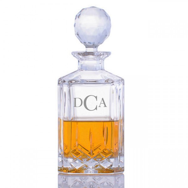 Cut Crystal Whiskey Decanter