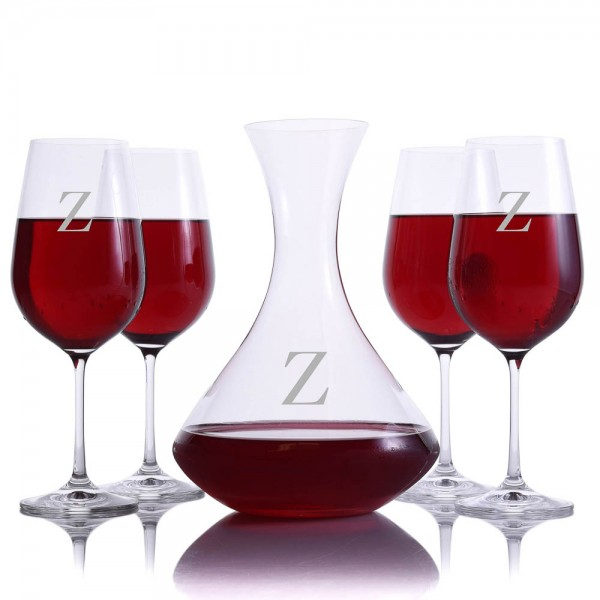 Crystalize Dilana Wine Decanter Set