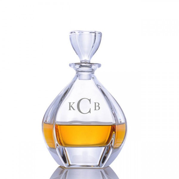 Crystalize Engraved Laguna Spirit Decanter