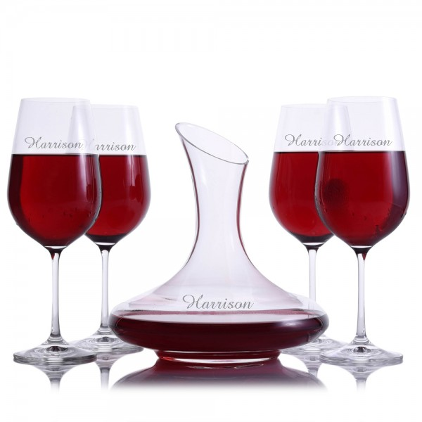 Crystalize Personalized Mozart Decanter Set