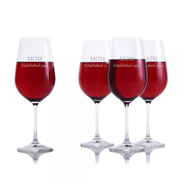 Crystalize Red Wine Glass