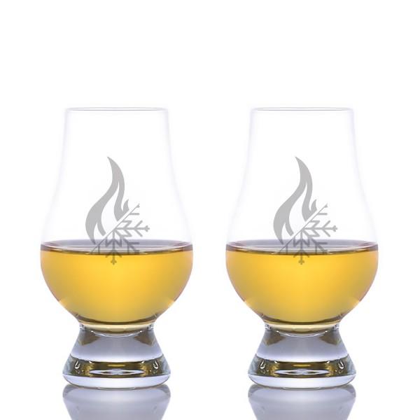 The Glencairn Nosing & Tasting Crystal Whiskey Glass-LOGO