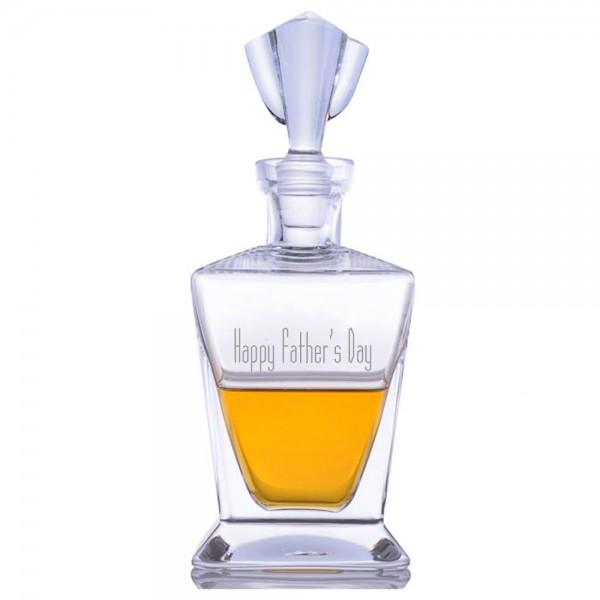 Ravenscroft Engraved Bishop Decanter