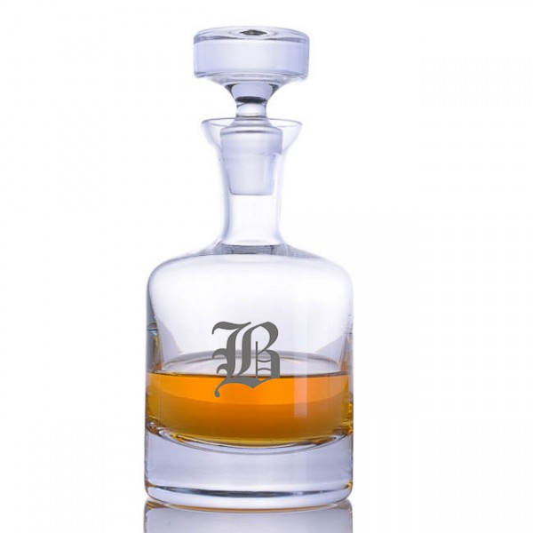 Ravenscroft Engraved Buckingham Decanter