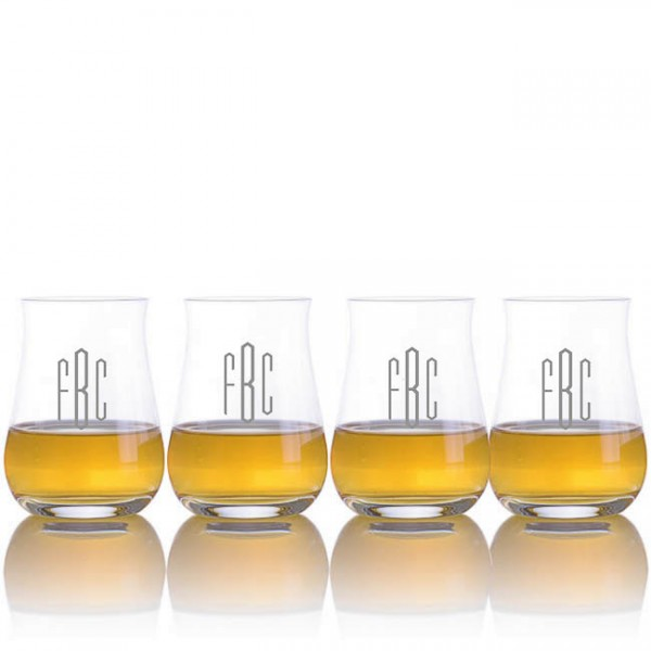 Ravenscroft Engraved Single Malt Scotch Glasses