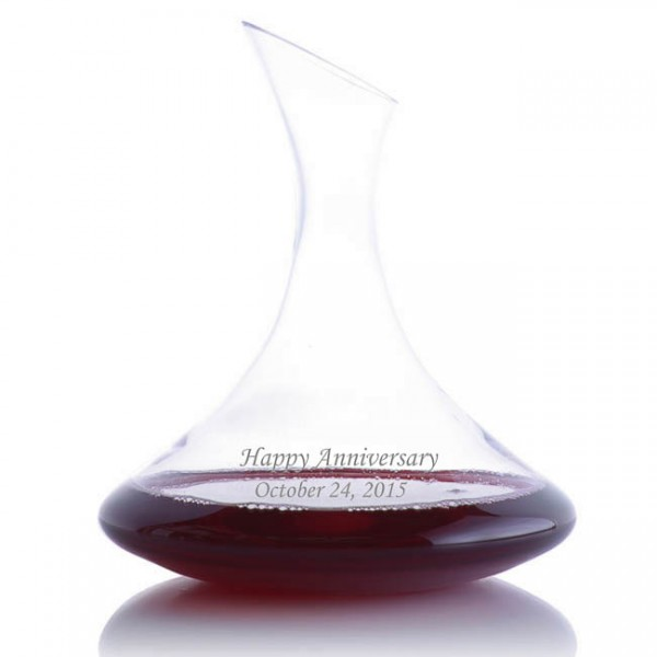 Ravenscroft Personalized Engraved Ultra Magnum Decanter