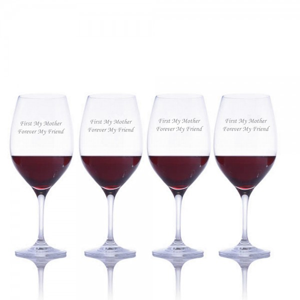 Engraved Ravenscroft Red Wine Glass - Mother's Day Gift