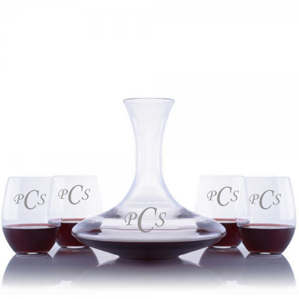 Riedel Ultra Wine Decanter Stemless Set