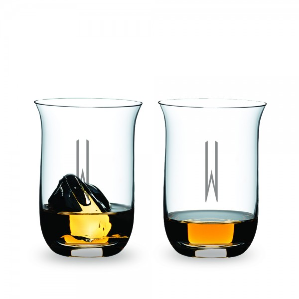 Personalized 2 Piece Single Malt Whisky Tumbler Tasting Gift Set