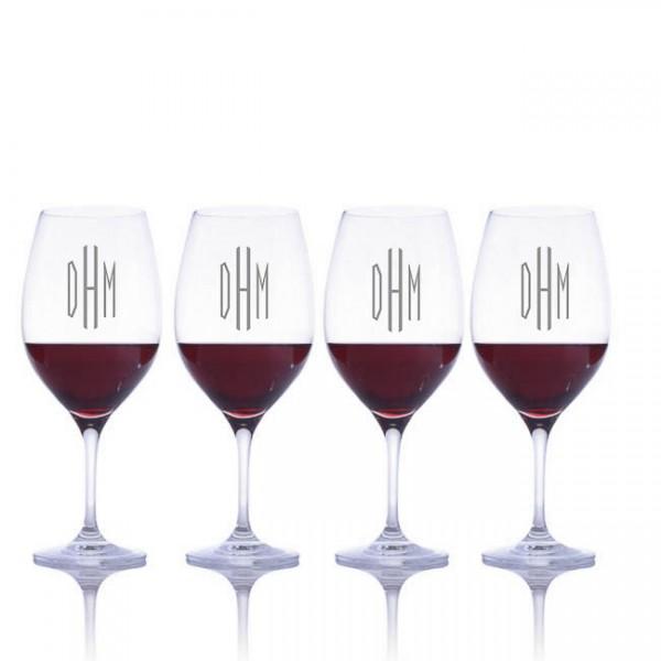 Riedel Engraved Vinum Red Wine Bordeaux Glass