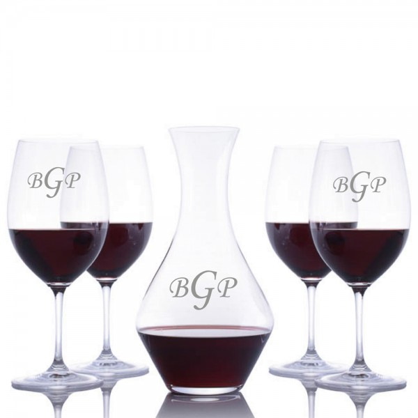 Riedel Cabernet Magnum & Stemmed Glasses 5pc Set