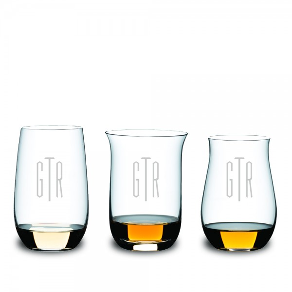 Personalized 3 Piece Spirits Tasting Gift Set by Riedel