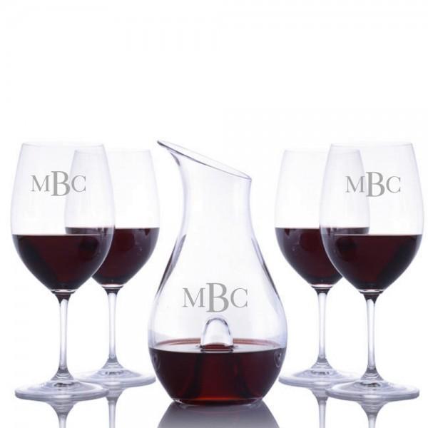 Custom O Single Wine Decanter 5pc. Set by Riedel