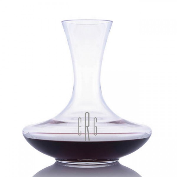 Engraved Waterford Vintage Sommeliers Wine Carafe/Decanter