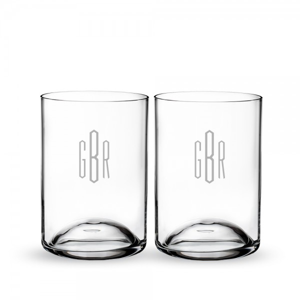 Personalized Waterford Elegance Double Old Fashioned Set of 2