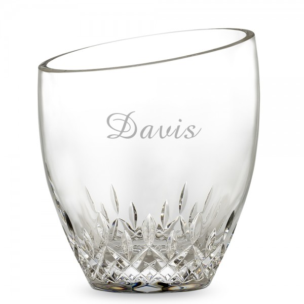Personalized Waterford Lismore Essence Ice Bucket With Tongs