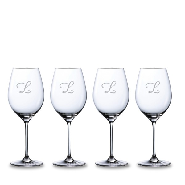 Personalized Waterford Moments Crystal Red Wine Glass 4pc. Gift Set