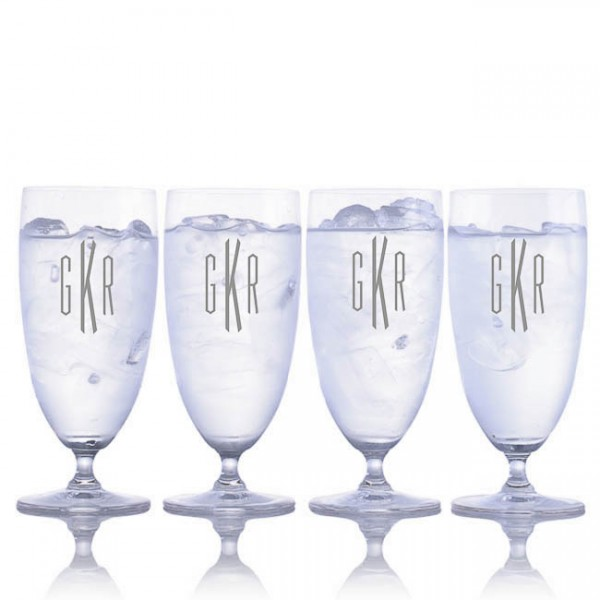 Engraved Waterford Vintage Iced Beverage Glasses