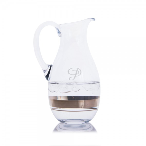 Personalized Waterford Elegance Water Pitcher