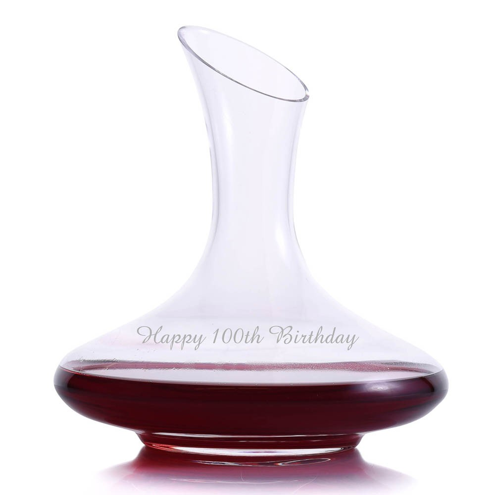 Crystalize mozart wine decanter for Wine carafes and decanters