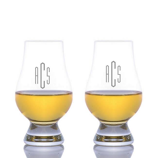 personalized glencairn nosing tasting glass 2pc set. Black Bedroom Furniture Sets. Home Design Ideas
