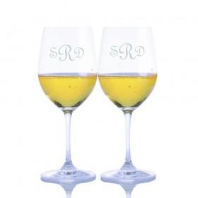 0ba2aba99da Monogrammed White Wine Glasses | Etched White Wine Tumblers - Orders ...